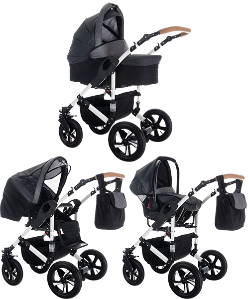 3 in 1 Kinderwagen Sets von Bebebi