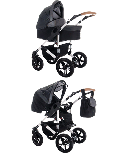 2 in 1 Kinderwagen Sets von Bebebi